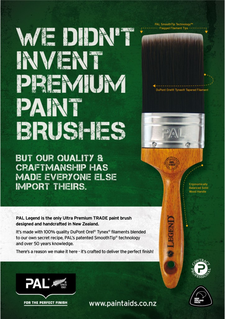 New Advertising for Paint Aids Limited