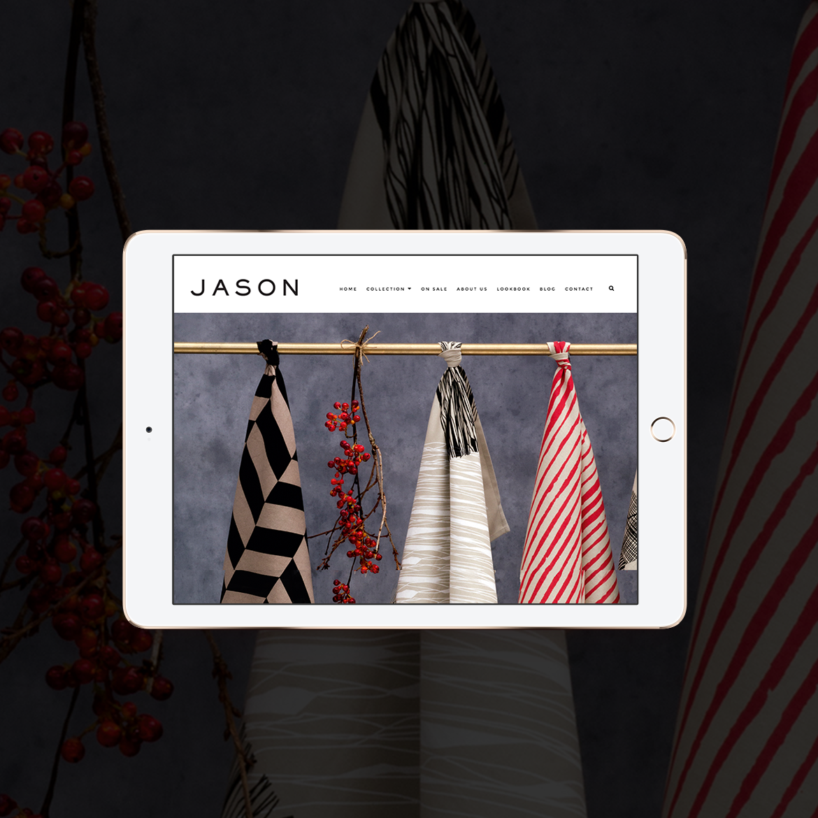 New Jason Website Design