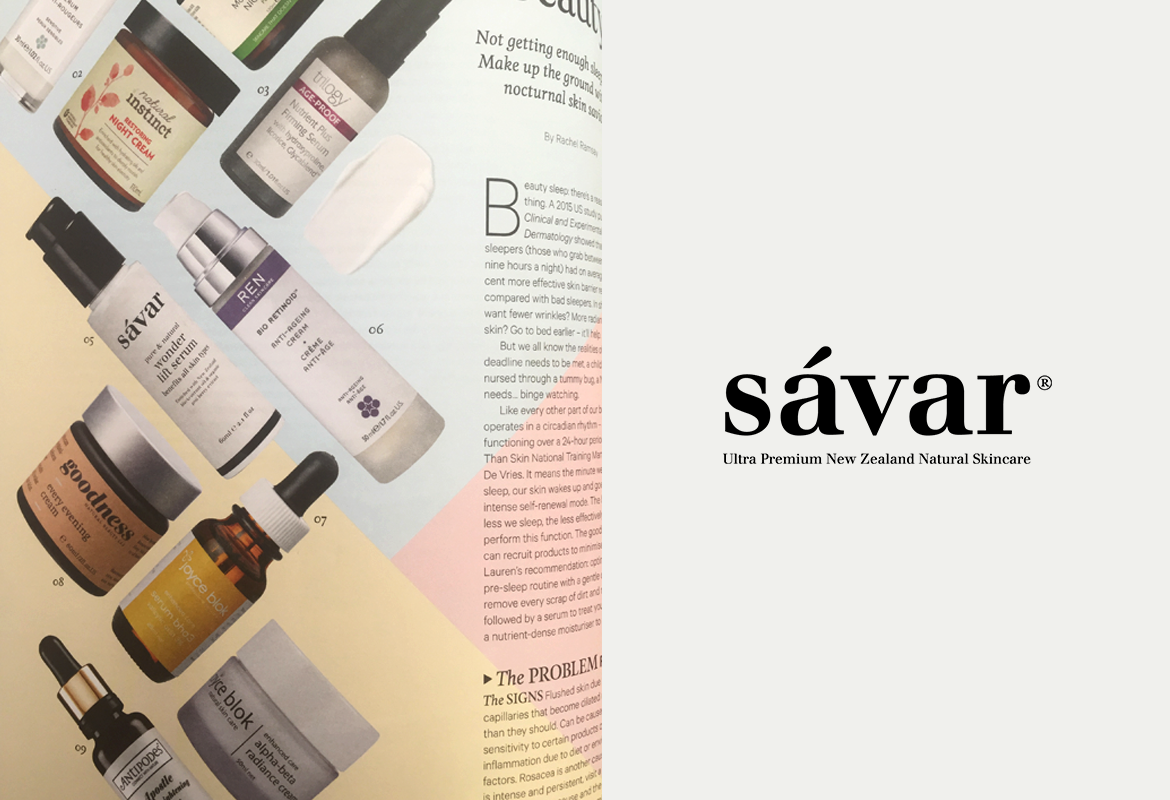Sávar featured in Good Magazine