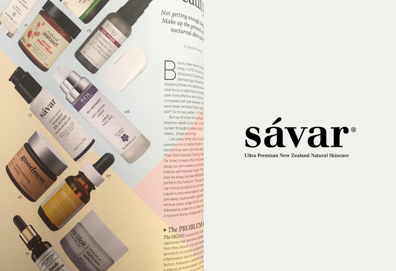 Sávar featured in Good Magazine