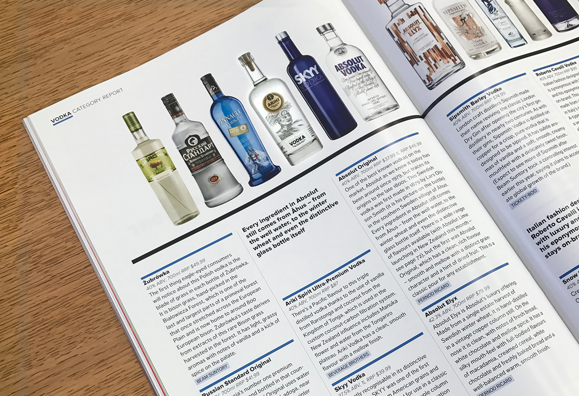 Ariki featured in Drinksbiz