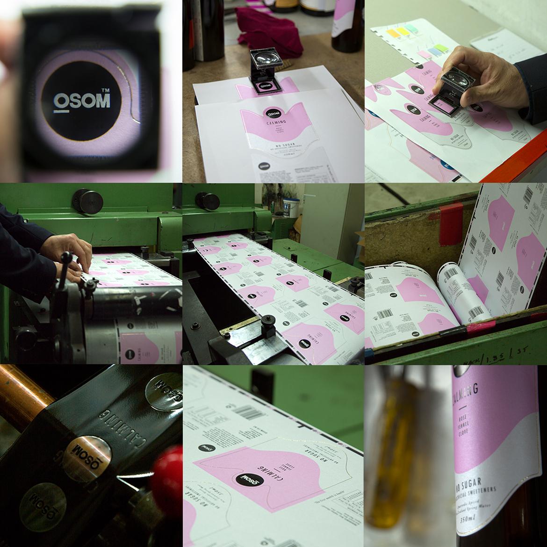 OSOM™ Beverage Packaging Design