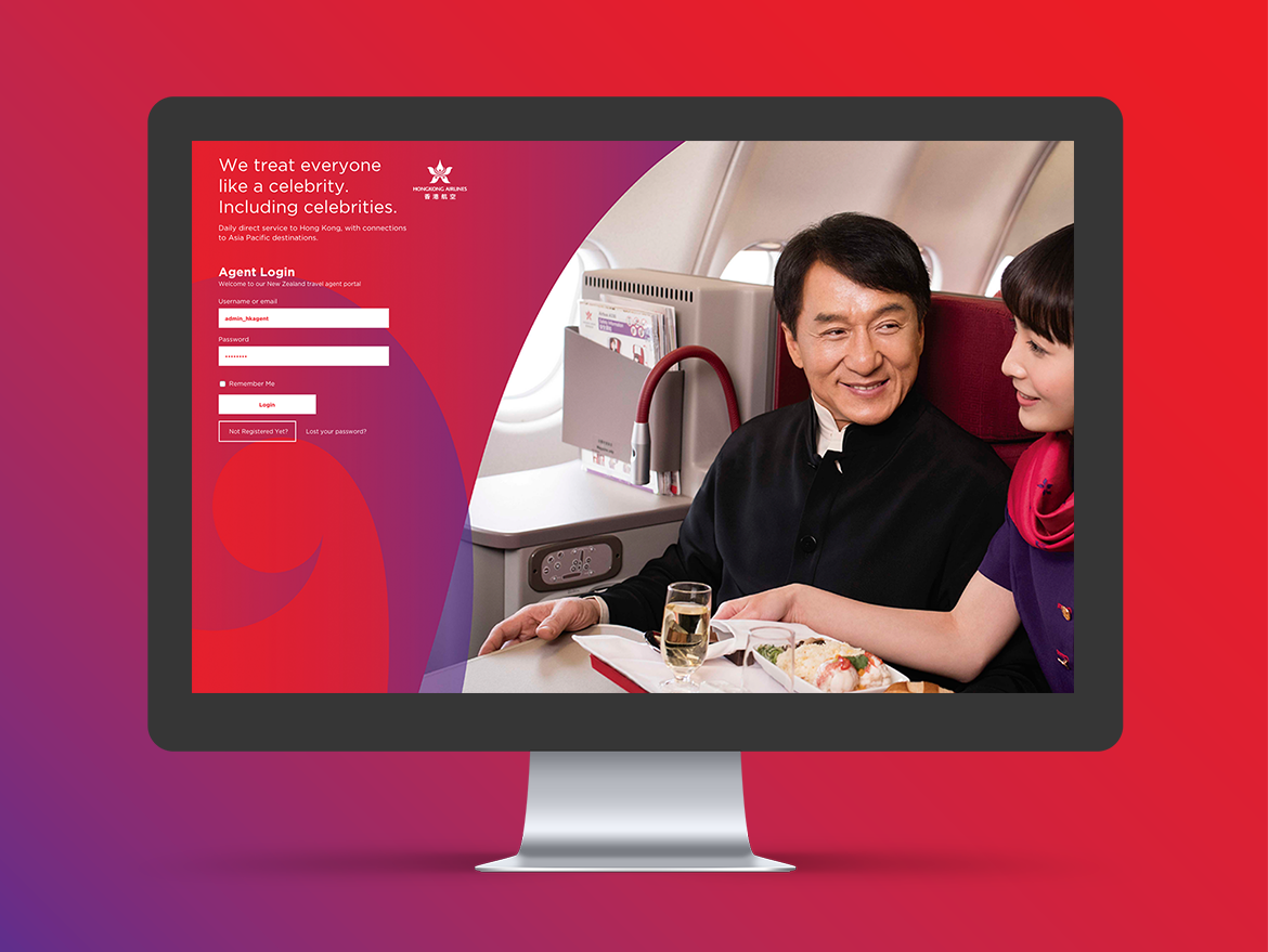 redfire-design-hong kong airlines website
